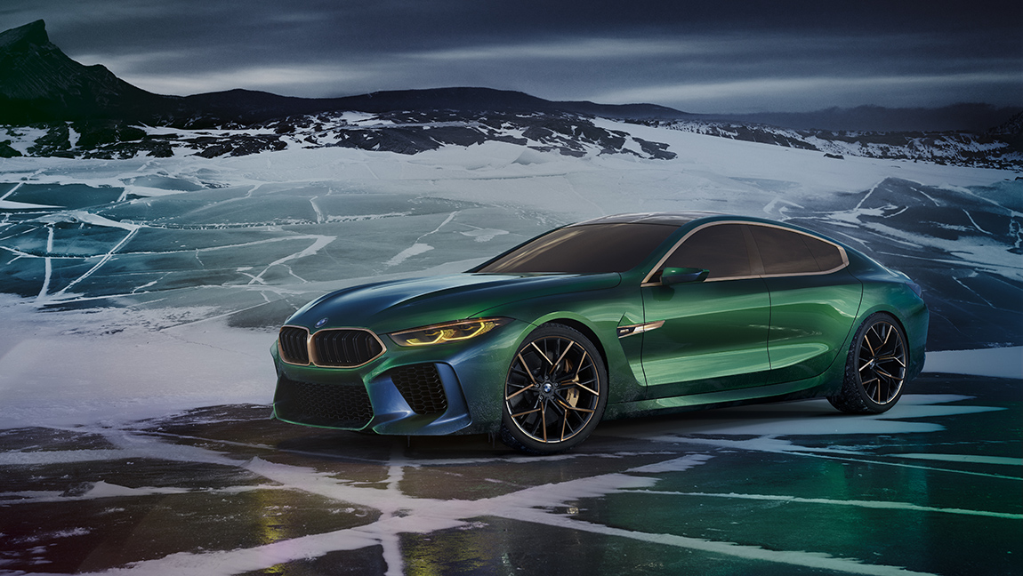 BMW 8er Gran Coupe Genf