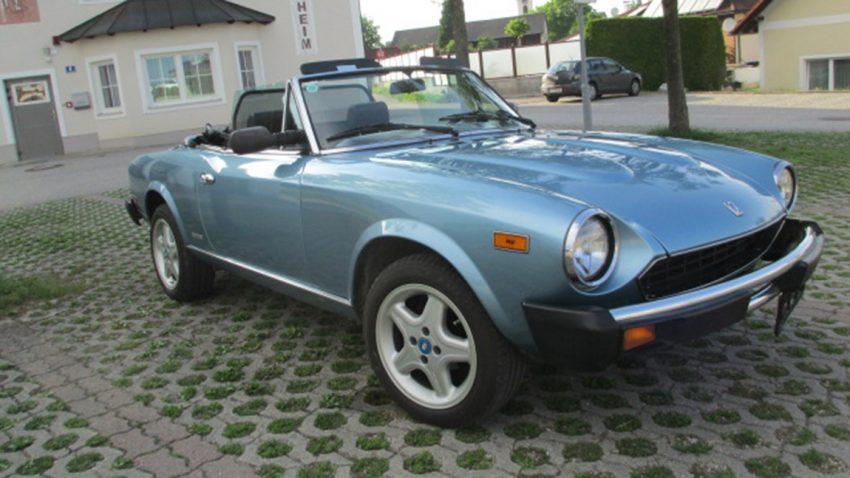 Fiat 124 Spider Gebrauchtwagen zu verkaufen