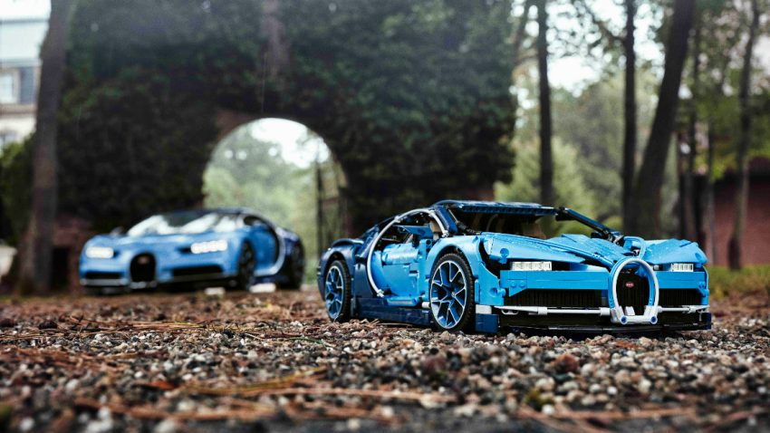 3.599 Teile: Das ist der Lego Bugatti Chiron