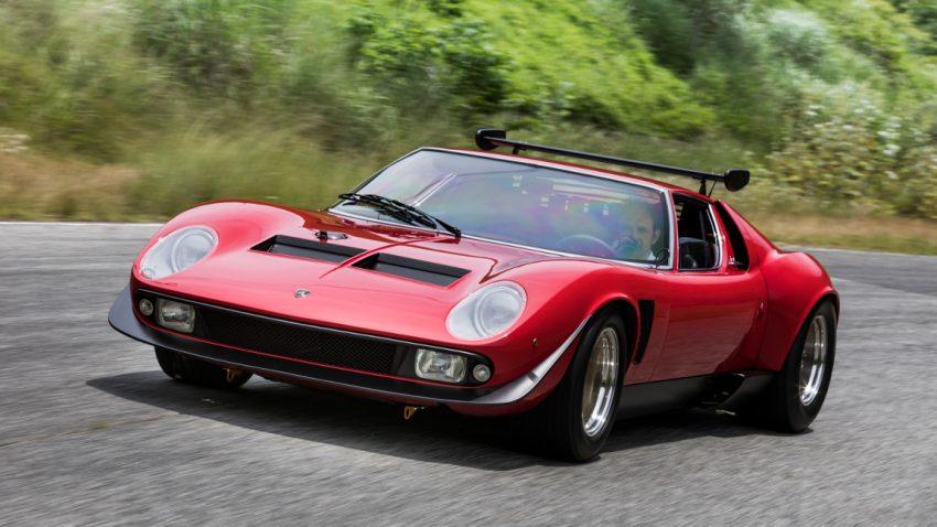 Restaurierung von legendärem Lamborghini Miura SVR abgeschlossen