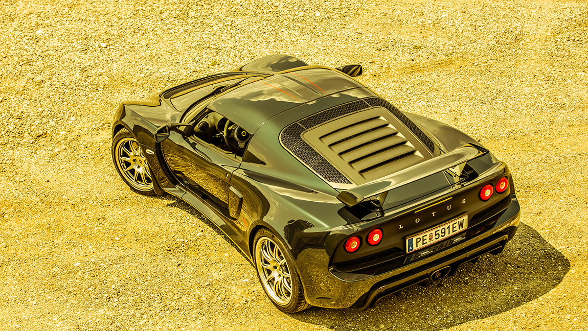 Lotus Exige Sport 250 70th anniversary Special Edition