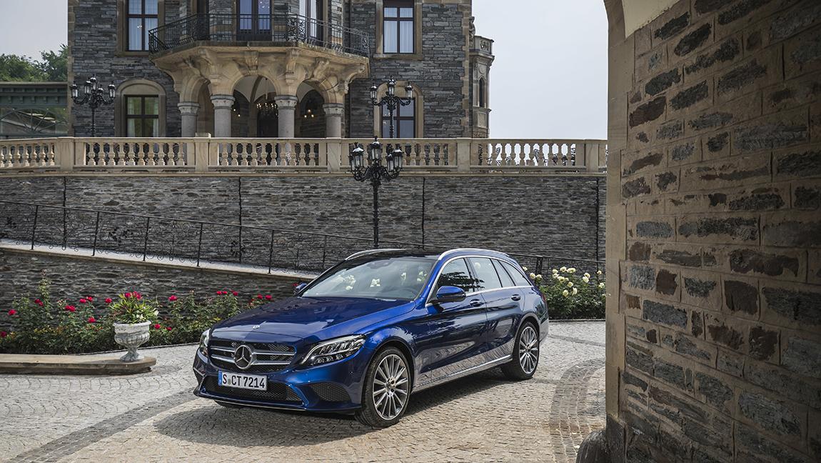 Mercedes C-Klasse überarbeitet 2018