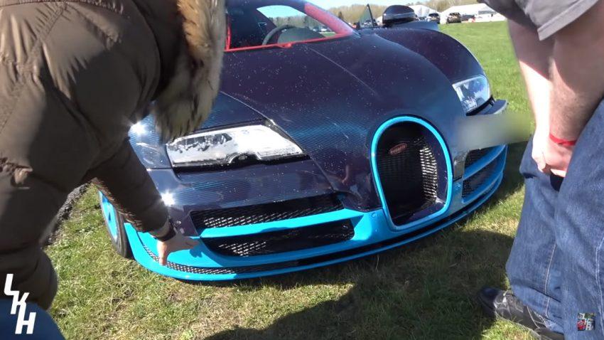 Onboard-Video: 334 km/h mit dem Bugatti Veyron - und ein Crash