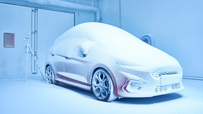 Schneesturm im Sommer: Ford macht sich sein Wetter einfach selbst