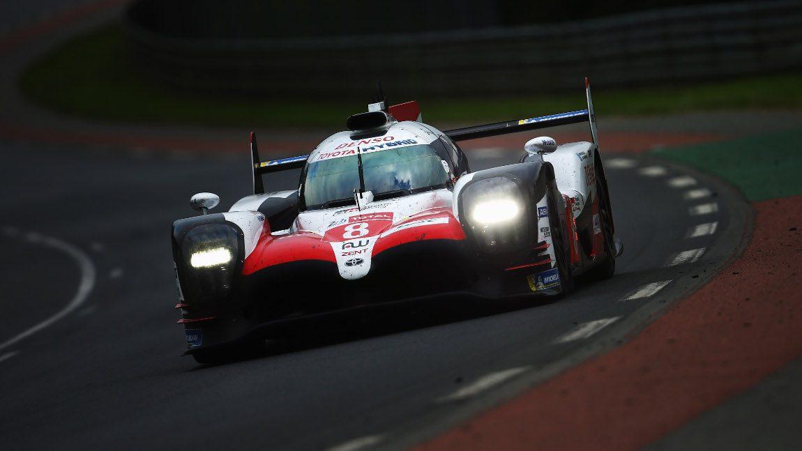 Fernando Alonsos Toyota gewinnt 24 Stunden von Le Mans