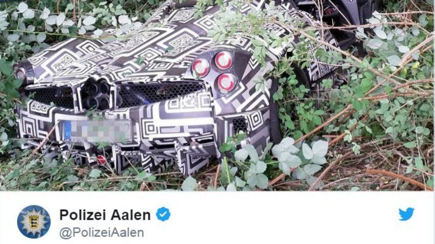 Pagani Huayra-Prototyp in Deutschland verunfallt