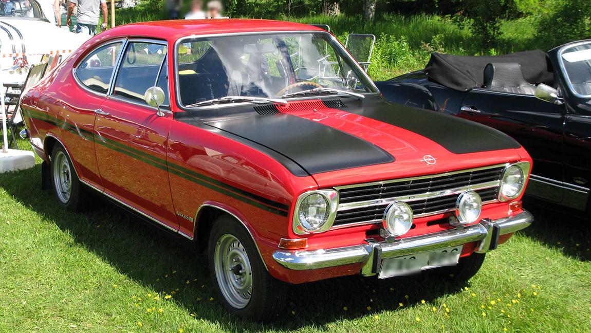 1969 Opel Kadett B Rallye