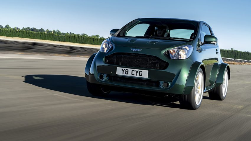 Aston Martin Cygnet V8 Toyota IQ Goodwood