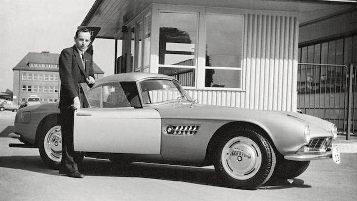 """John Surtees und sein BMW 507: """"German car, not possible!"""""""