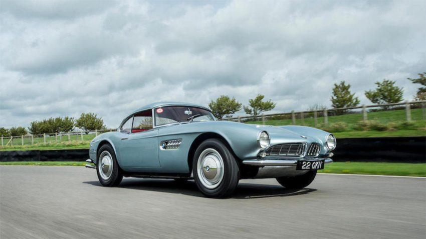 BMW 507 John Surtess Bonham Auktion Versteigerung