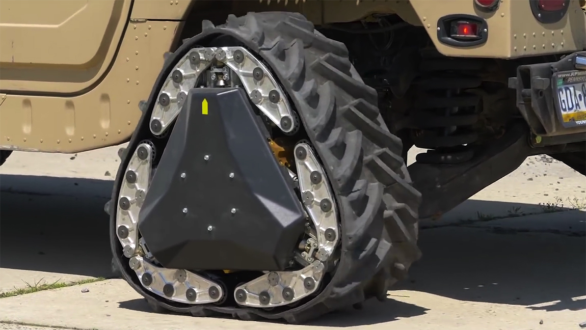 Darpa GXV-T Rad Kettenantrieb Versuchsfahrzeug