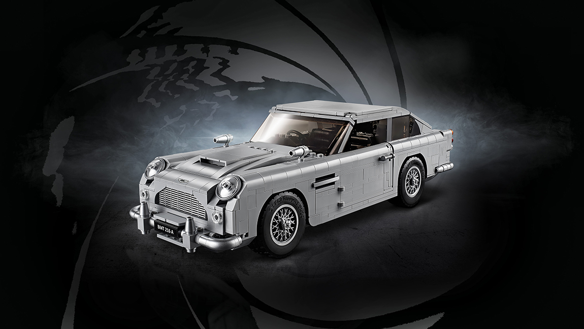 Lego Aston Martin DB5 James Bond