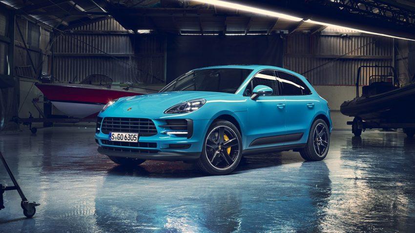 Porsche Macan: Keine Diesel und ein neuer Innenraum