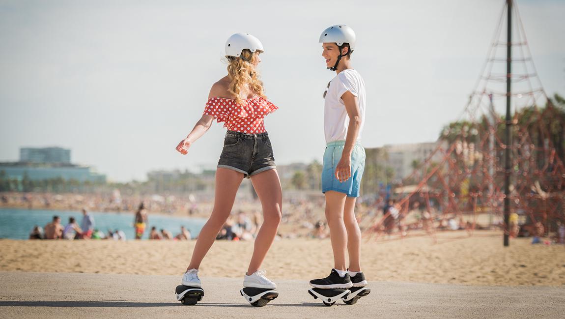Segway Drift W1 e-Skate elektrische Rollshuhe inlineskates
