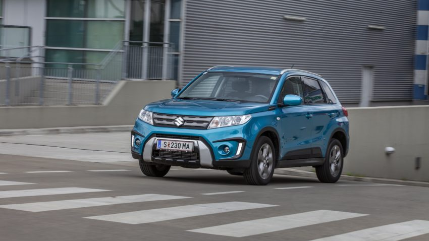 Suzuki Vitara 2016: Farben frohes SUV