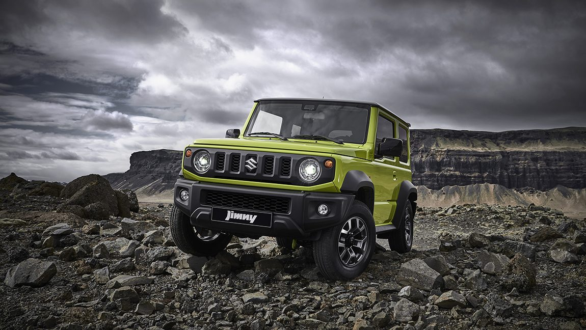 der neue suzuki jimny er bleibt rustikal wird aber. Black Bedroom Furniture Sets. Home Design Ideas