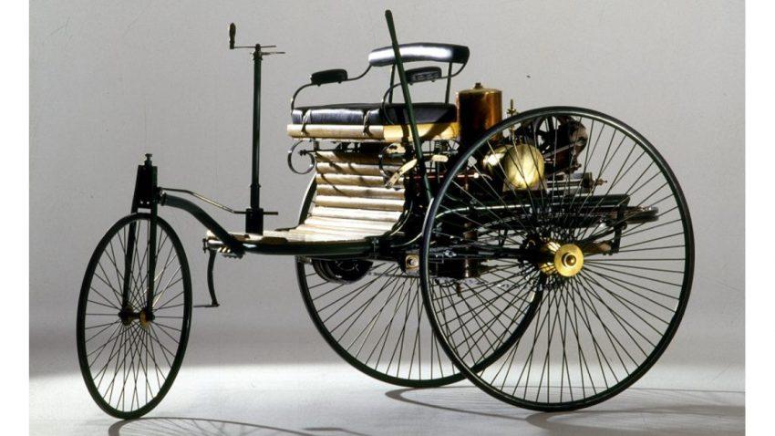 Maximal retro: Diese Benz Patent Motorwagen Replika steht zum Verkauf
