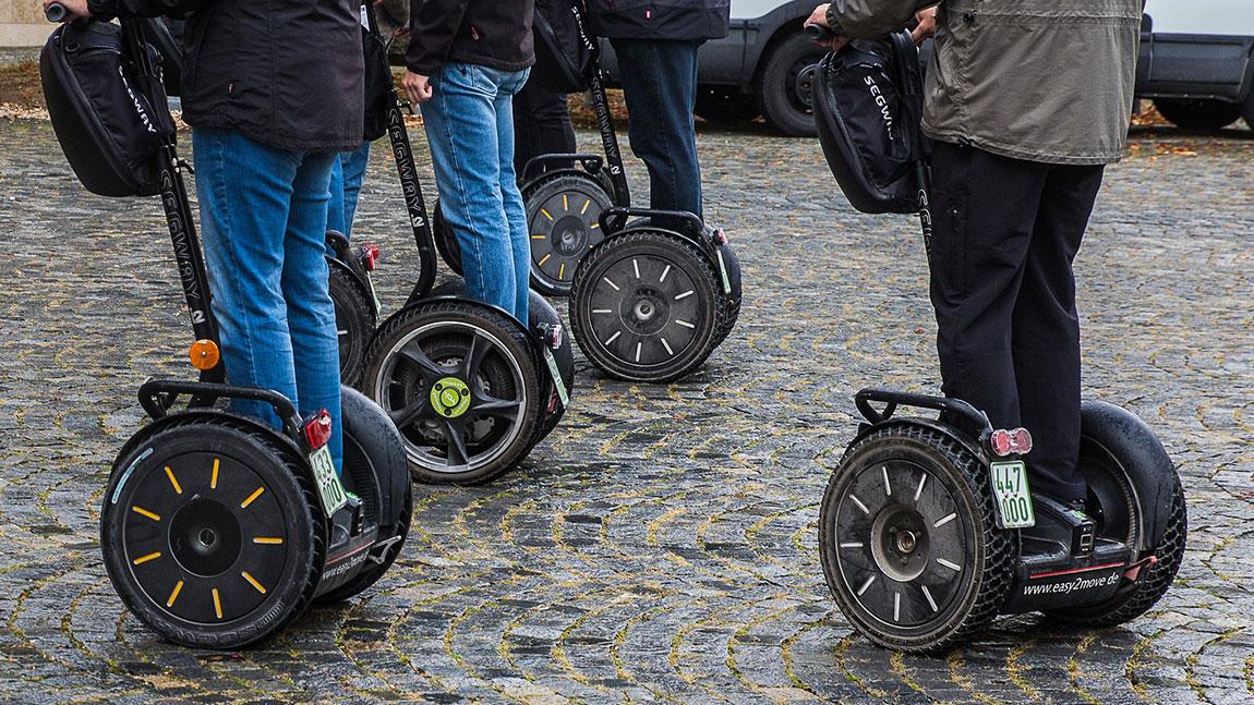 E Mobilität: Womit darf man wo fahren?
