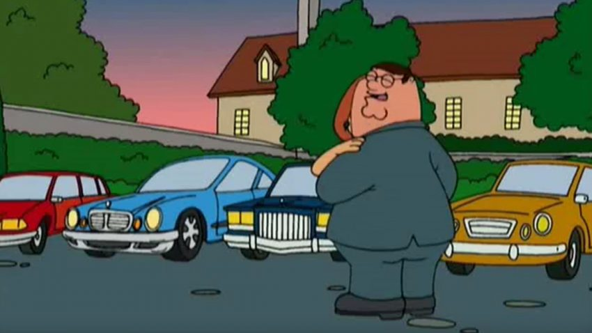 10 Autos die in Family guy vorkommen