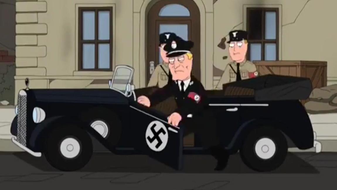 10 Autos die in Family guy vorkommen