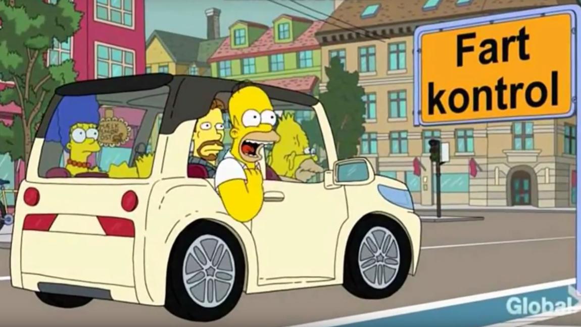 10 Autos au den Simpons BMW I3