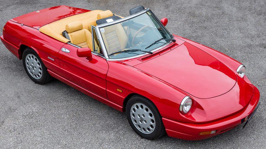 Kaufberatung Alfa Romeo Spider: Zart, dann hart