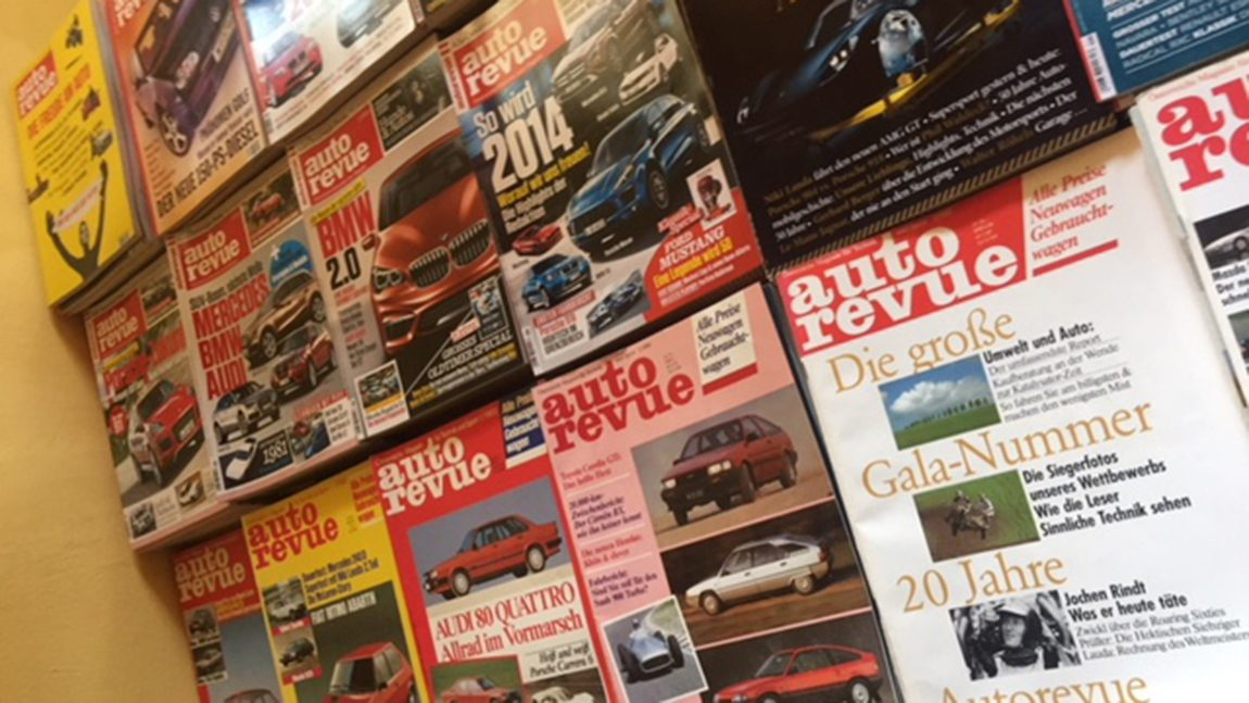 Autorevue Zeitschriften zu verkaufen