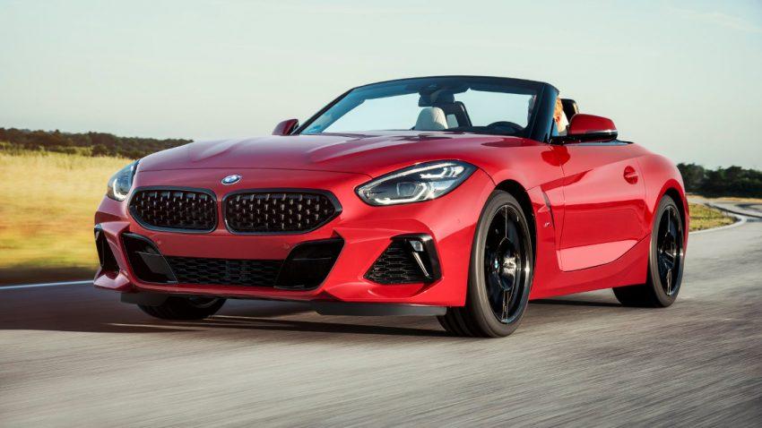 Weltpremiere: Der neue BMW Z4