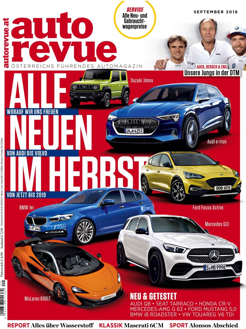 Autorevue Magazin September 2018