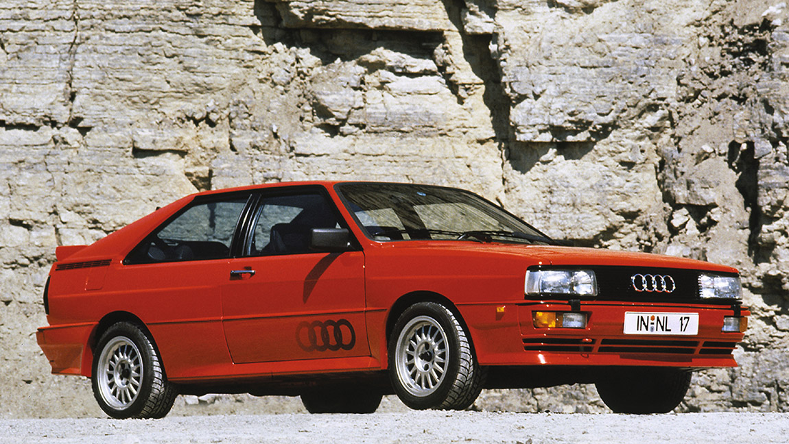 Kultautos der 1980er kultige karren Audi quattro