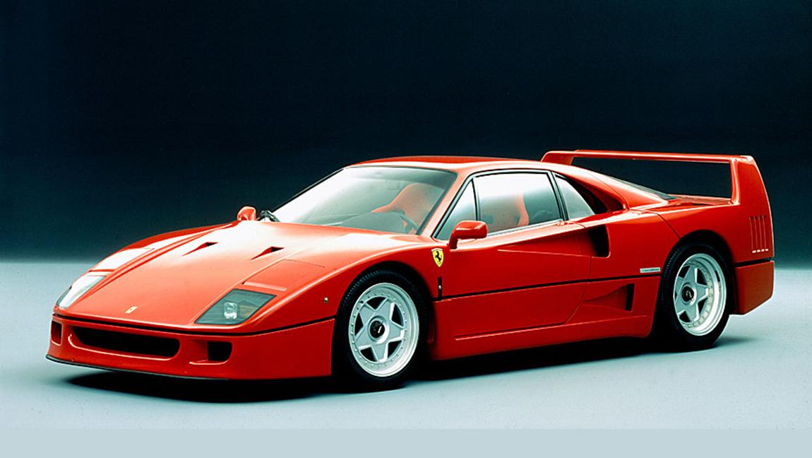Ferrari F40 Kultautos der 1980er Jahre kultige Karren