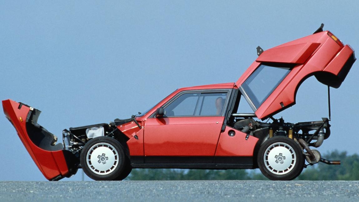 Kultautos der 1980er Jahre Lancia Delta S4 Stradale