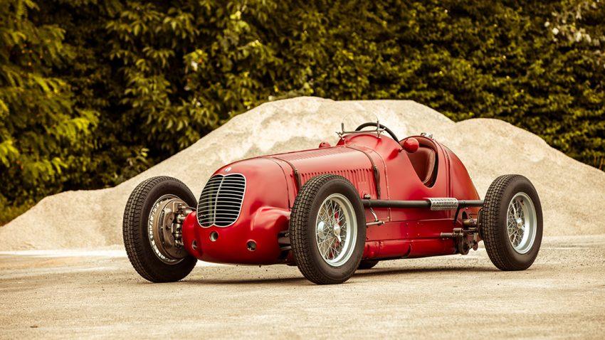 Maserati 6cm Historie Klassiker Rennsport Oldtimer
