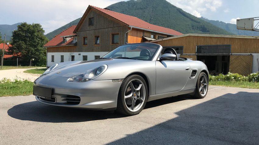 Porsche Boxster S 50 Jahre 550 Spyder zu verkaufen Gebrauchtwagen