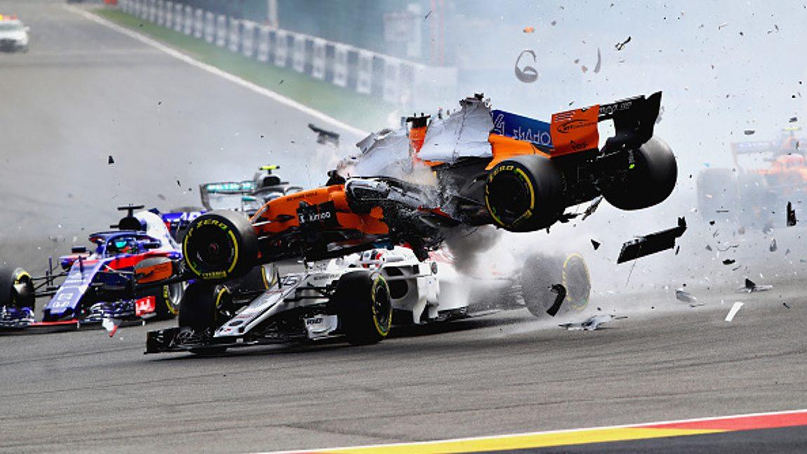 Alonso kritisiert Hülkenberg nach heftigem Crash in Spa