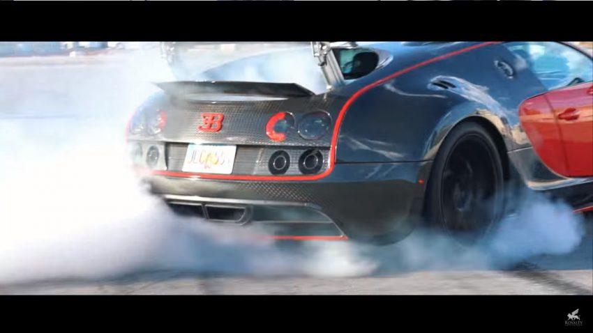 Dieser Mann hat seinen Bugatti Veyron zum Hecktriebler umgebaut