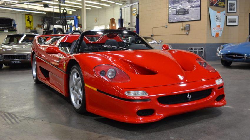 Der allererste Ferrari F50 sucht ein neues Zuhause
