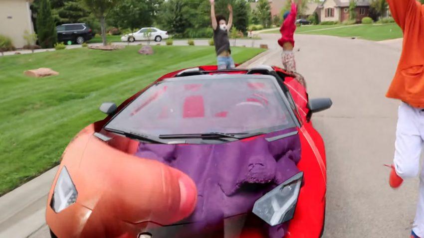 Dieses virale Lamborghini-Greenscreen-Video ist ... ungewöhnlich