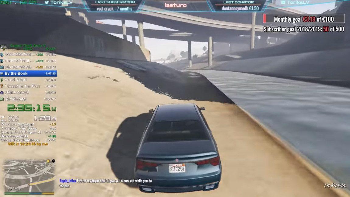 Speedrun-Weltrekord: So kann man GTA V in 10 Stunden komplett durchspielen