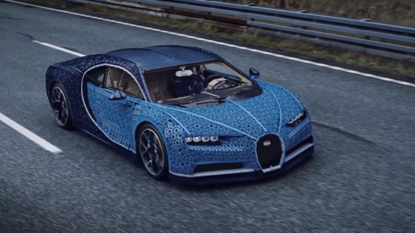 Dieser Bugatti Chiron fährt mit 2.304 Motoren - und bis zu 20 km/h