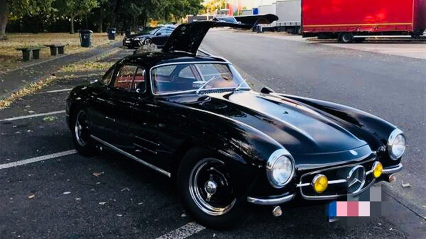 250.000 Euro Finderlohn: Mercedes-Benz 300SL nahe Nürburgring gestohlen