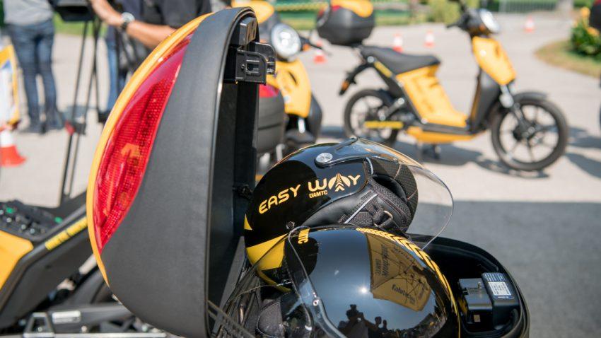 Neues Elektro-Scooter-Sharing des ÖAMTC in Wien und Graz