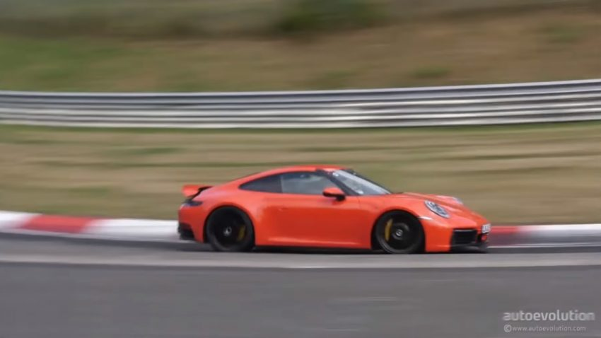 Der neue Porsche 911 (992) am Nürburgring