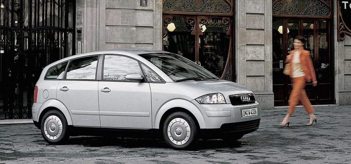 Audi A2: Plan 2 from outer Space