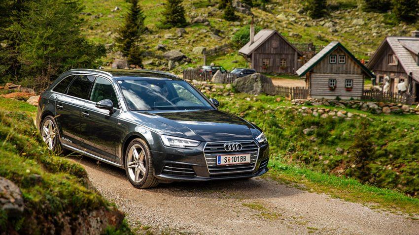 Audi A4 Avant 2,0 TDI Quattro sport: Vom gas gehen, Testende!
