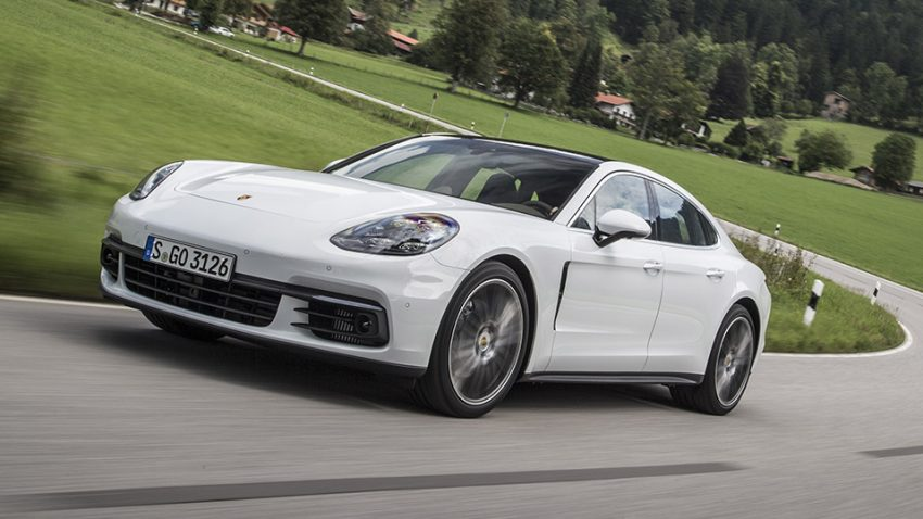 Porsche Panamera: Dr. Overkill and Mr. Glide