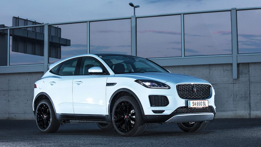 Jaguar E-Pace: Hoch in Style