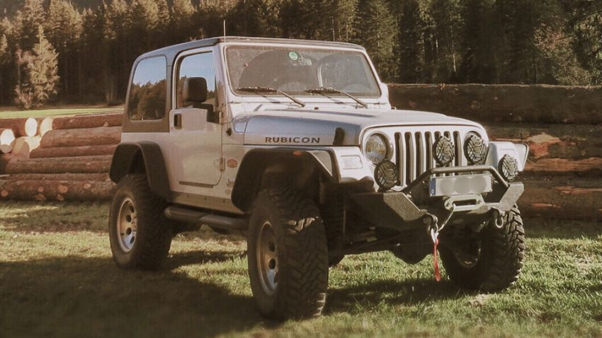 "Jeep Wrangler Rubicon 4.0 ""Tomb Raider"""