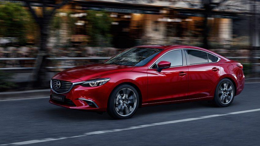 Mazda 6: Dopplereffekt