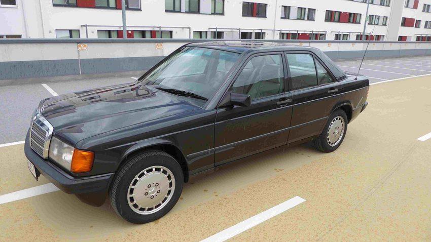 Mercedes 190E 2,3 Automatik Gebrauchtwagen zu verkaufen